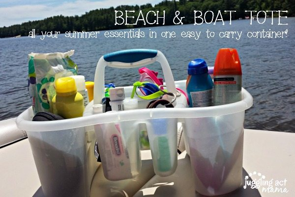beach and boat tote