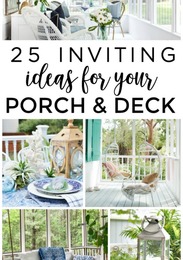 25 Inviting Screened Porch and Deck Ideas