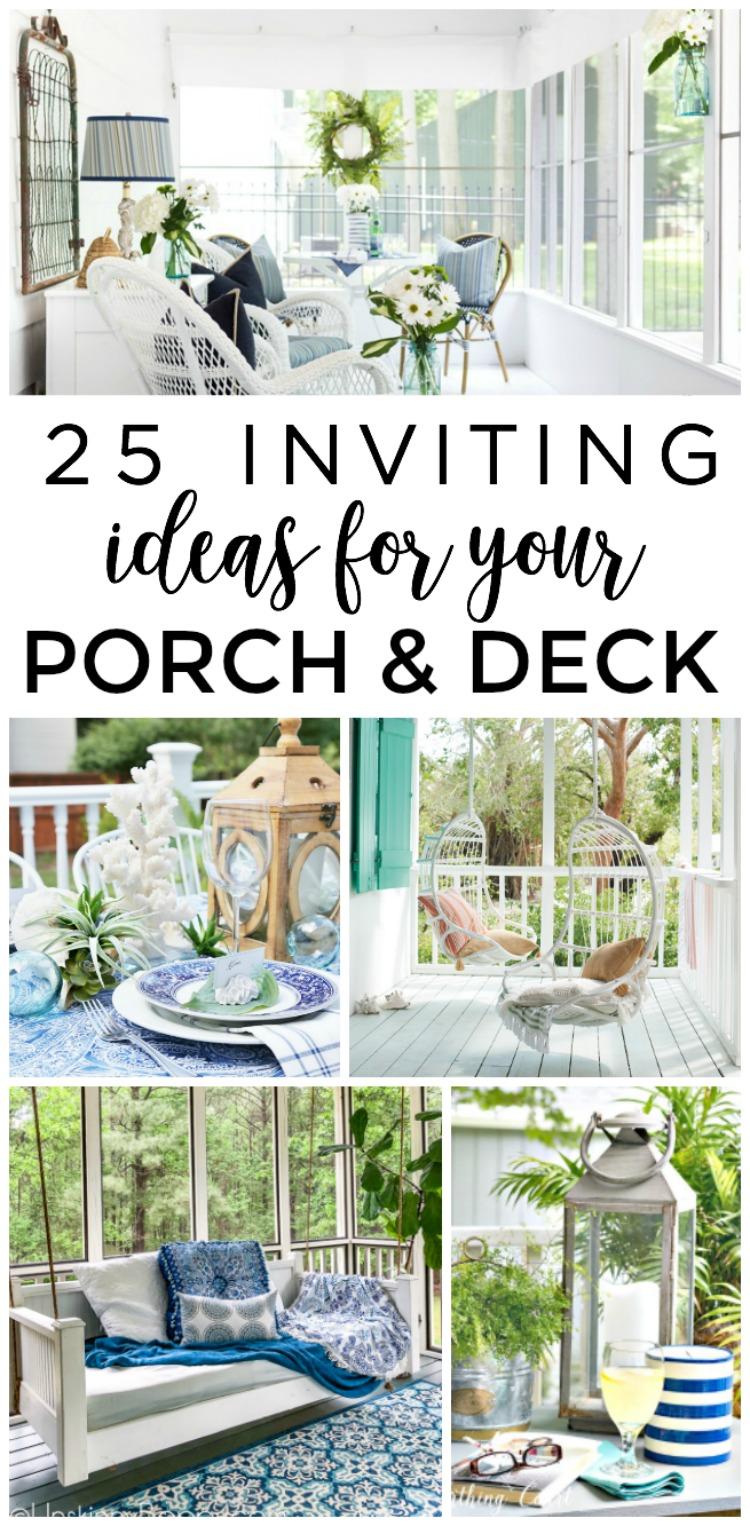 25 Inviting Screened Porch And Deck Ideas Making Lemonade