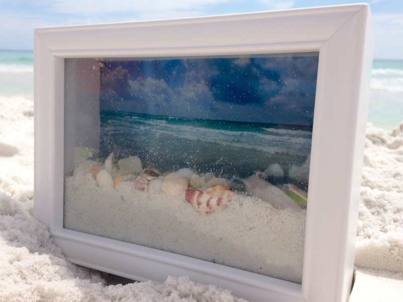 ocean view shadow box
