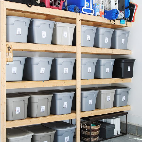 organize your entire home with this brilliant (and inexpensive!) organization idea! (organization ideas for the home)