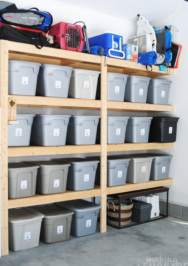 How To Organize the Garage {Garage Organization Ideas!}