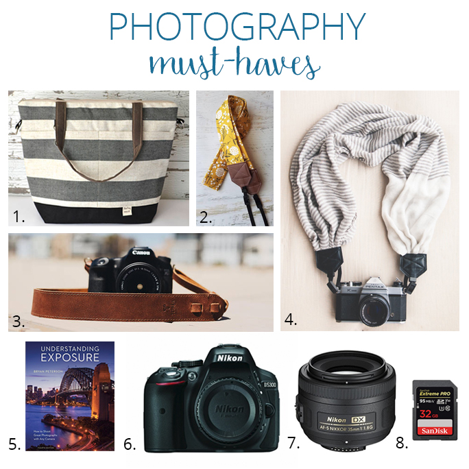 Check out these photography must-haves