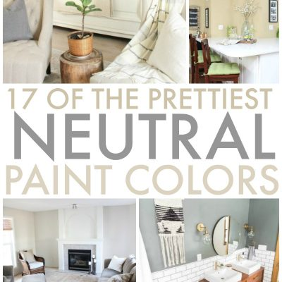 17 of the Prettiest Neutral Paint Colors