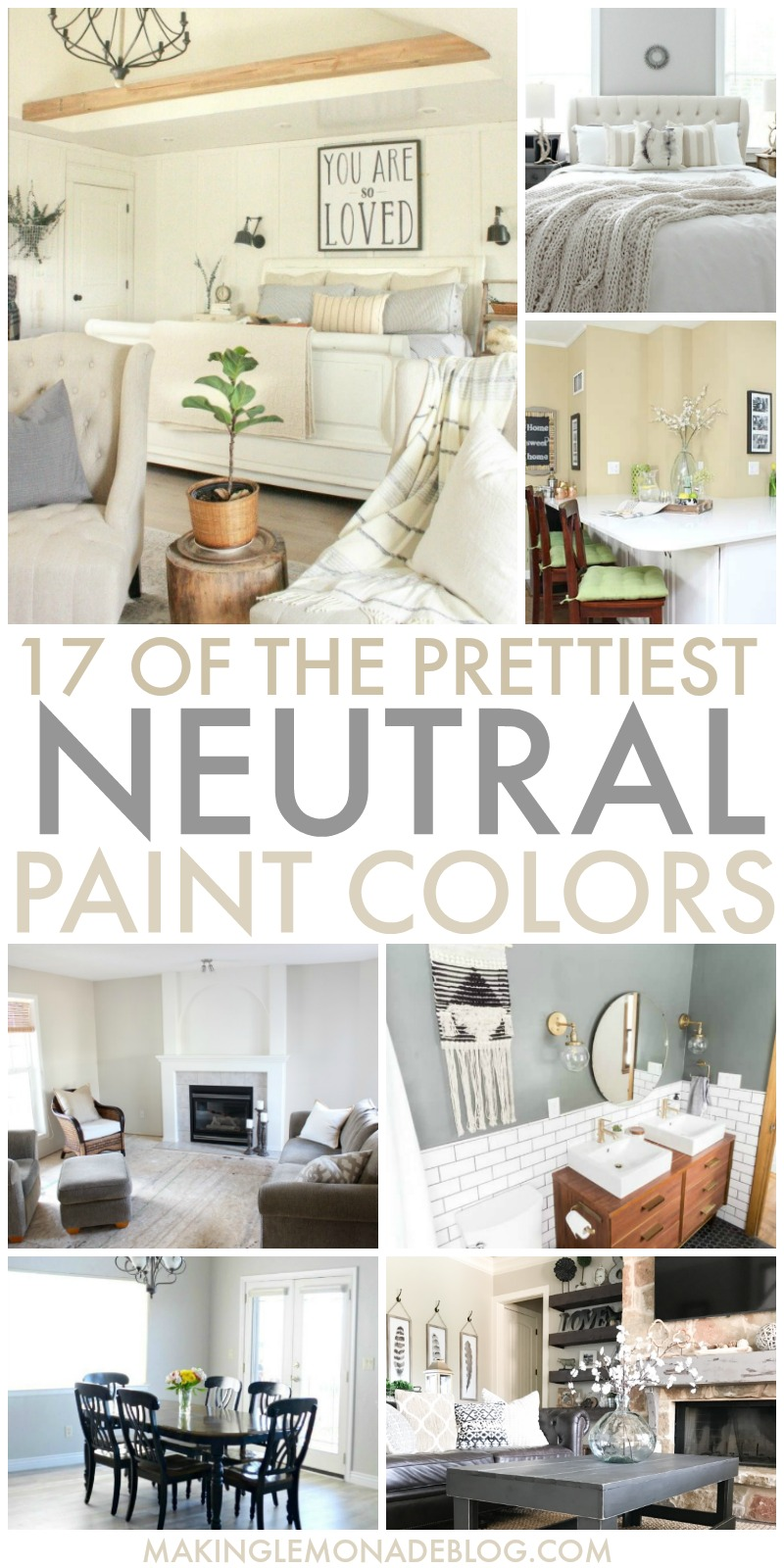 17 of the Prettiest Neutral Paint Colors | Making Lemonade