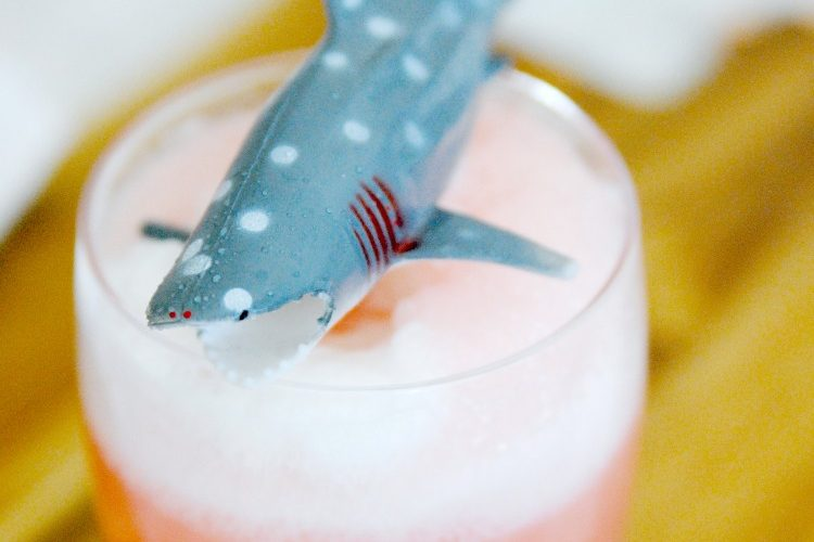 shark in drink