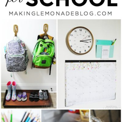 tips for organizing kids