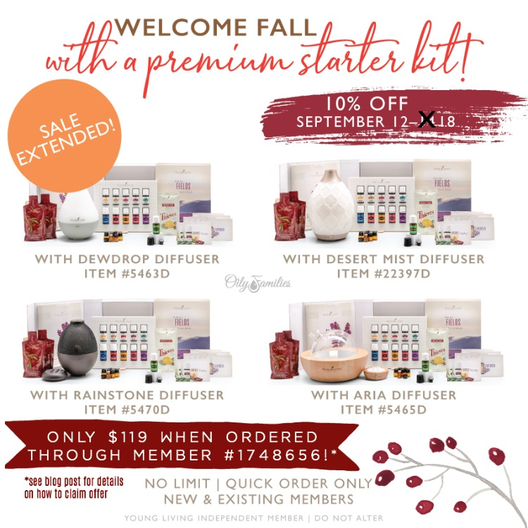 premium starter kit flash sale graphic