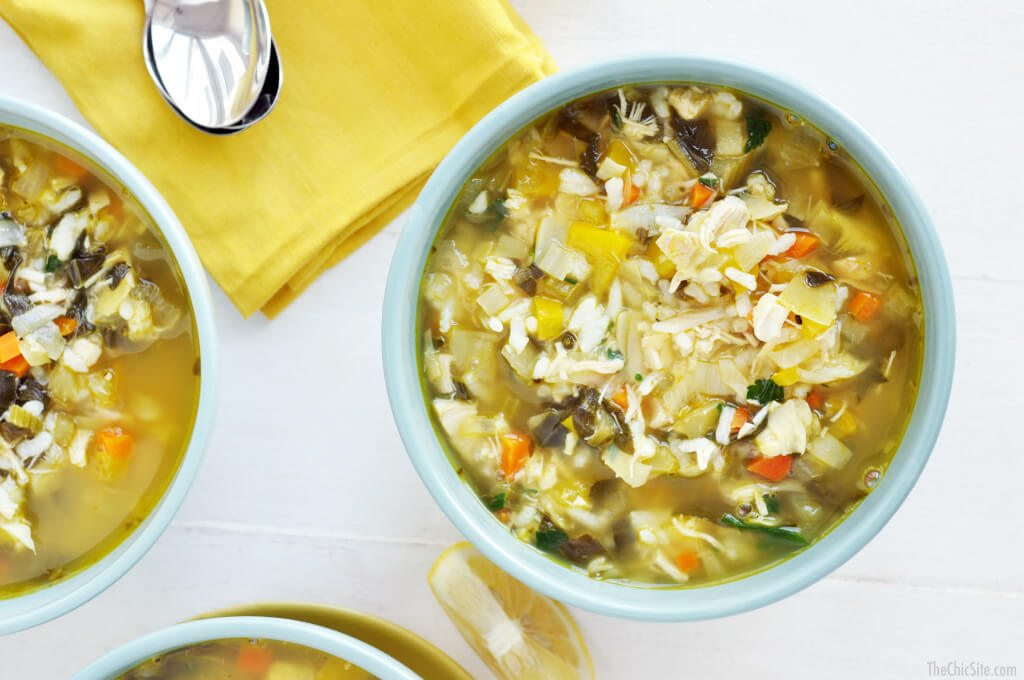 chicken artichoke soup