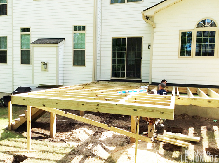 porch and deck framing