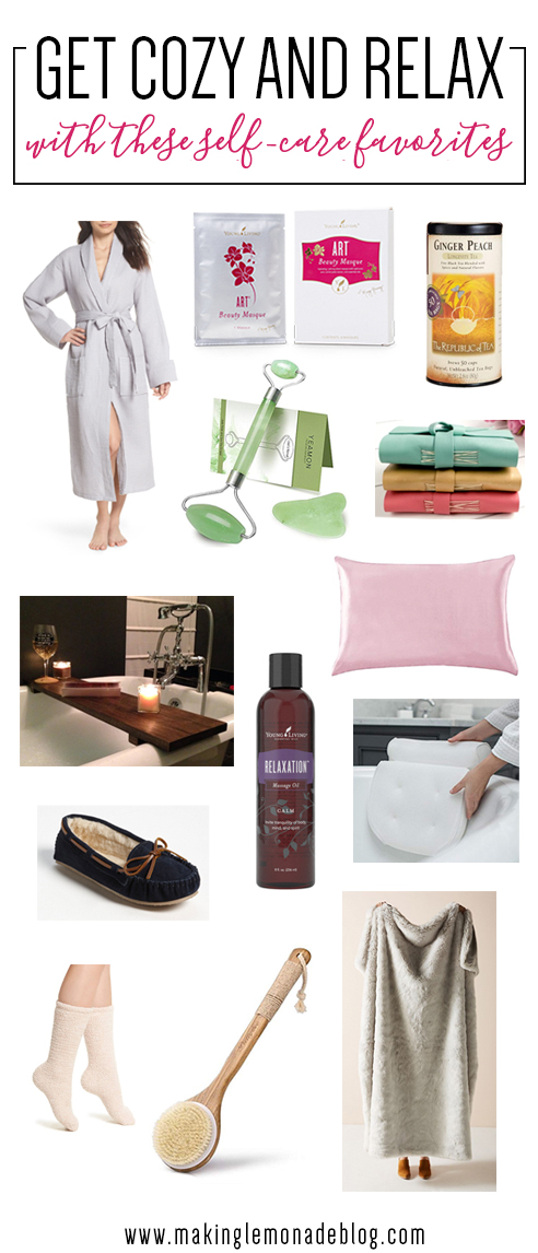 Get cozy and relax with these perfect self care picks!