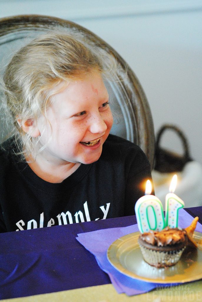 10th birthday photo