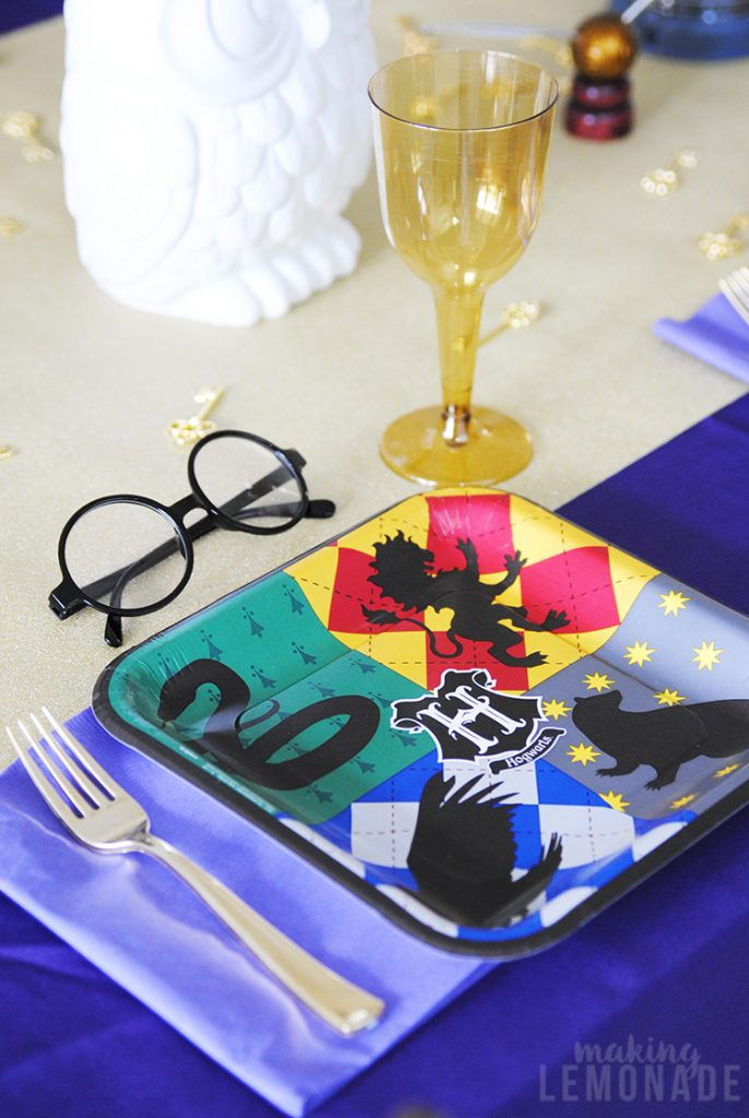 Harry Potter tablescape