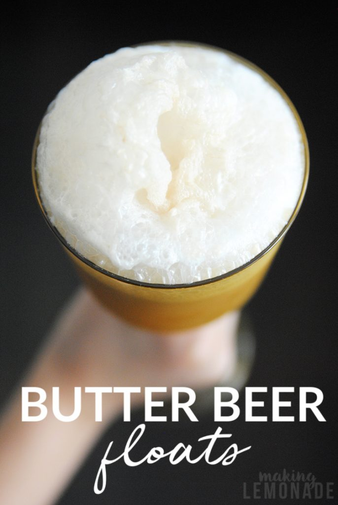 butter beer float