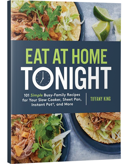eat at home tonight book