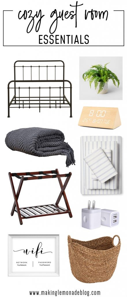 A roundup of guest room essentials
