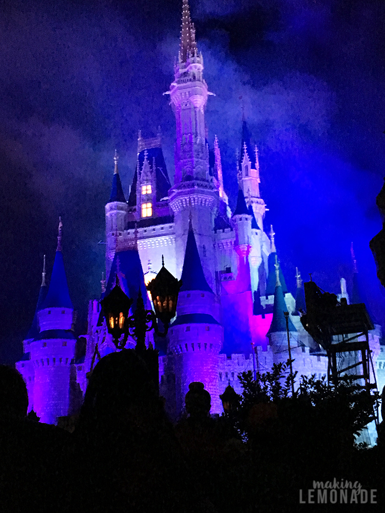 Hallowishes fireworks show