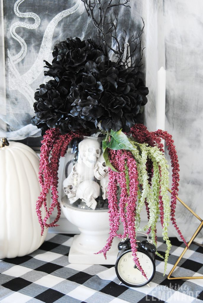 Halloween floral arrangment