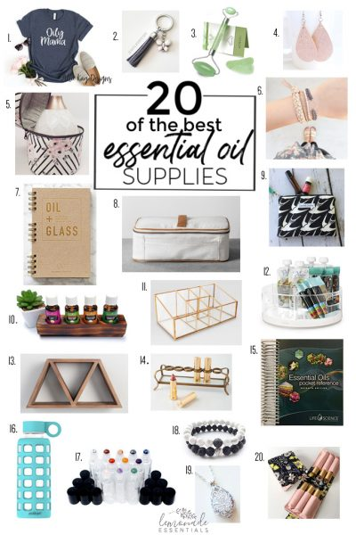 20 Favorite Essential Oil Accessories & Supplies