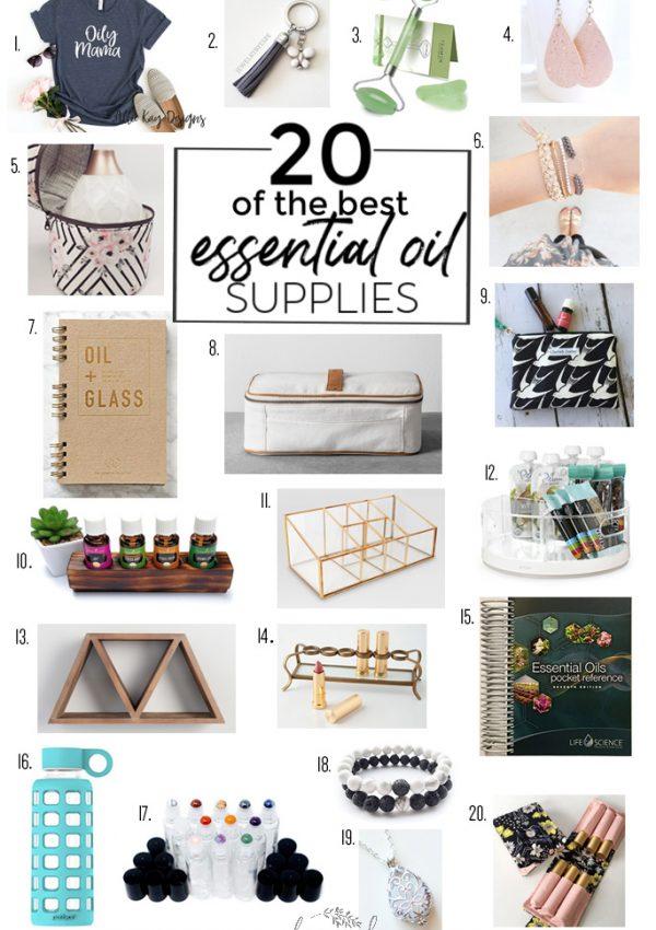 20 Favorite Essential Oil Accessories & Supplies