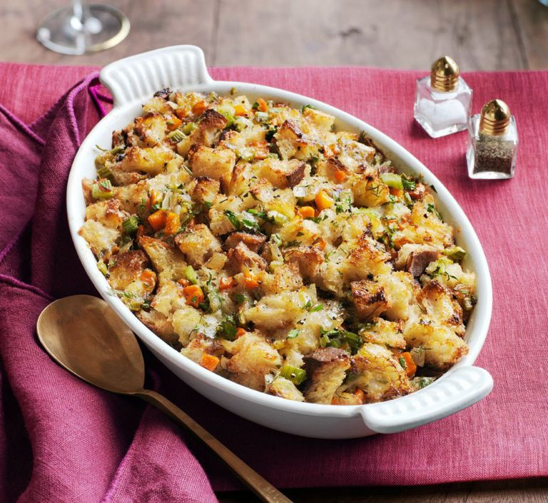 Cheddar and herb stuffing