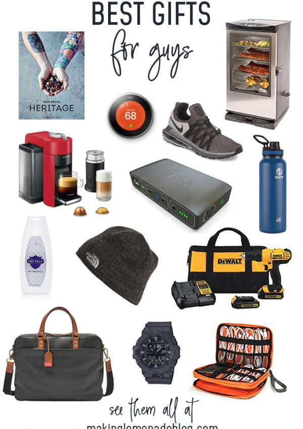 20 Great Gifts for Him (Holiday Gift Guide Spectacular)