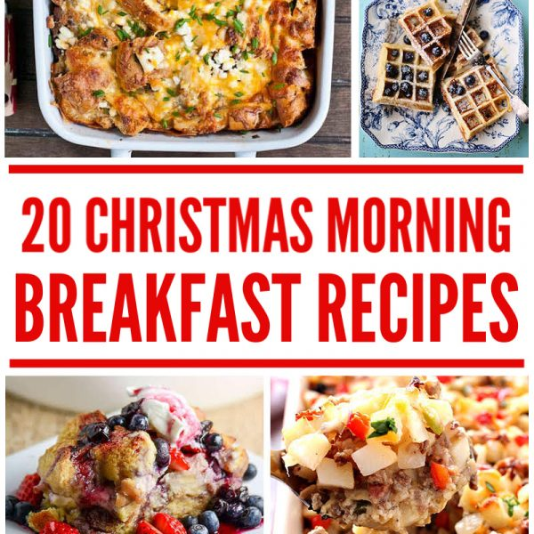 20 christmas morning breakfast recipes