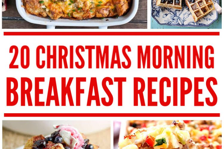20 Delicious Christmas Breakfast Recipes