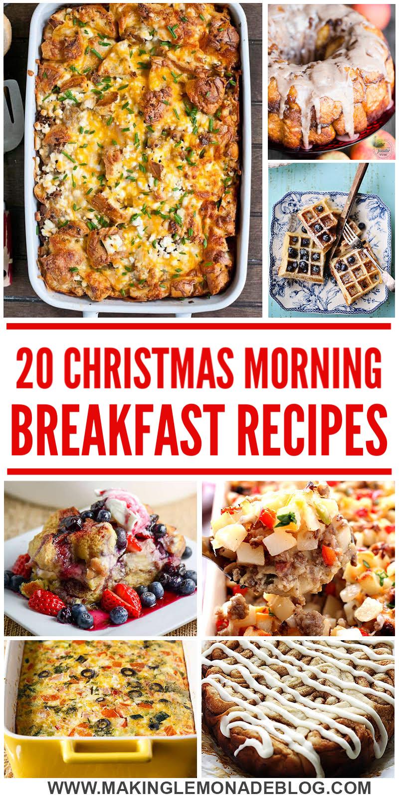 20 Delicious Christmas Breakfast Recipes Making Lemonade
