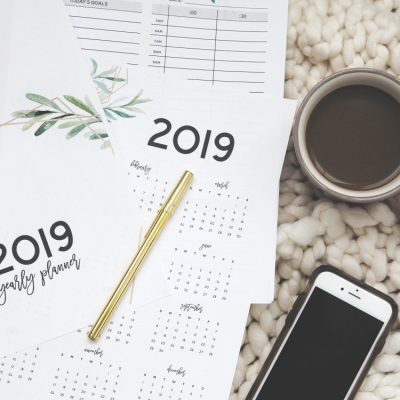 Get Organized with our Free Printable 2019 Planner!