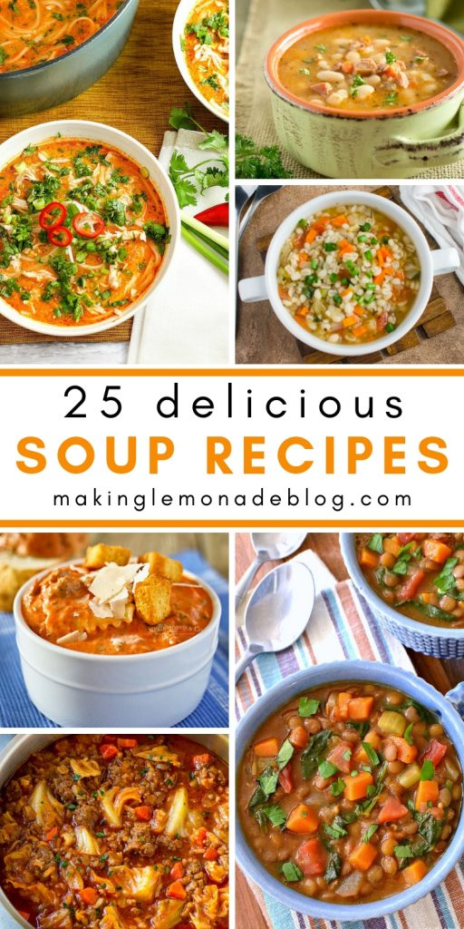 25 Delicious Soup Recipes to Warm You Up on a Cold Day