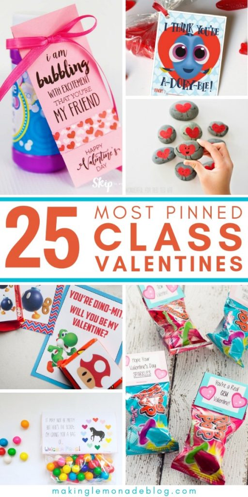 25 Most Pinned Class Valentines