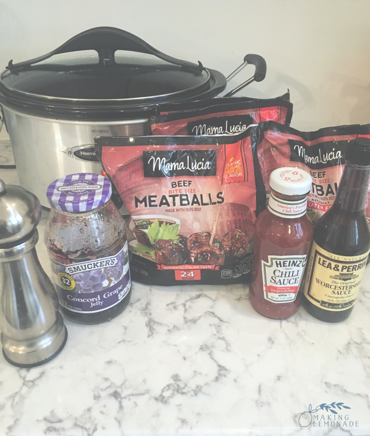 slowcooker meatball ingredients