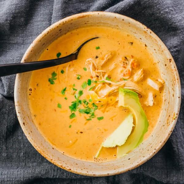 instant pot salsa chicken soup
