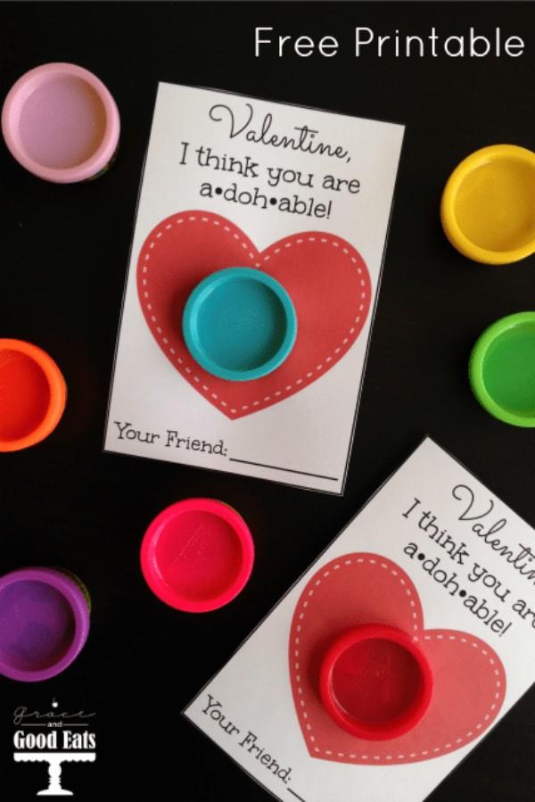 play-doh valentine