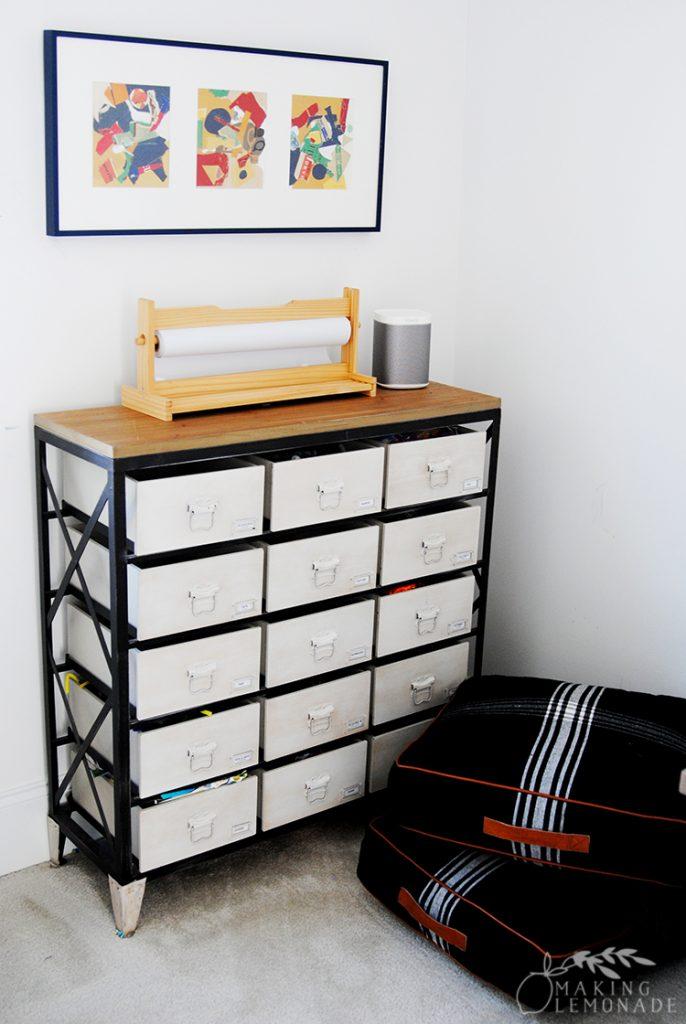 playroom craft supply storage cabinet