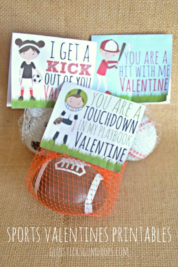 sports valentines