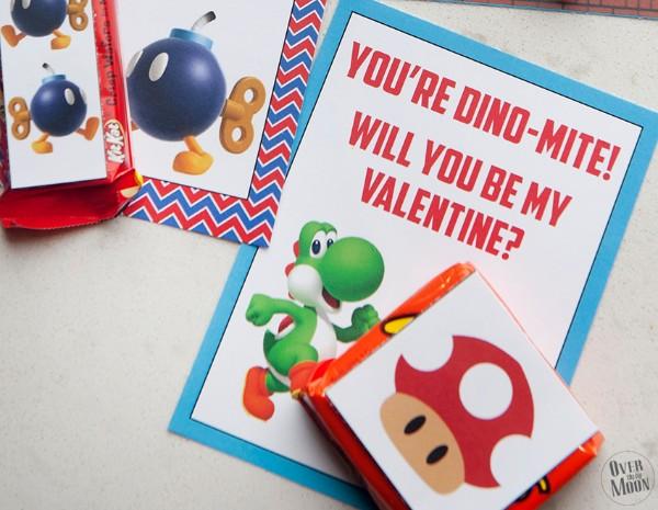 super mario valentines