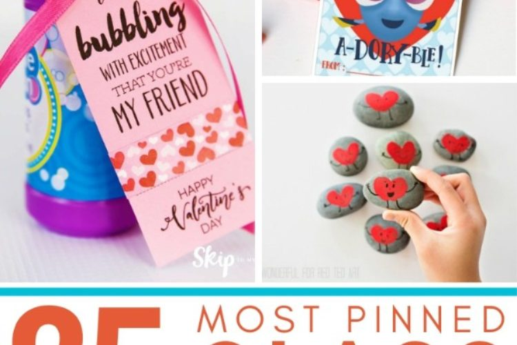 roundup of 25 awesome DIY class valentines