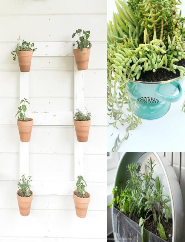 25 Creative Container Garden Ideas