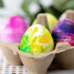 How to Make Marbleized Easter Eggs With Shaving Cream