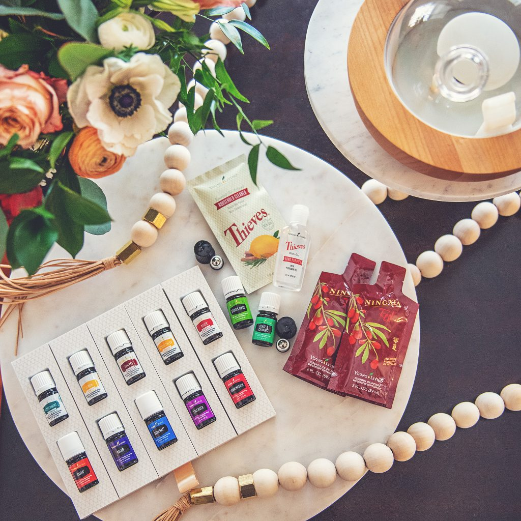 Young Living Premium Starter Kit with Aria diffuser