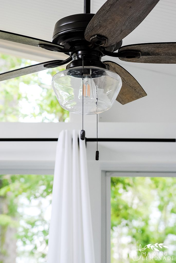 outdoor curtains and outdoor ceiling fan