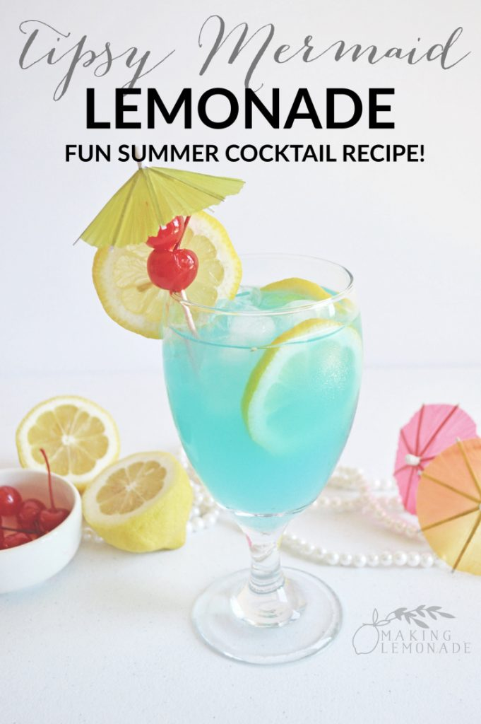 this delicious and refreshing summer cocktail is a rum infused lemonade sure to remind you of sipping by the sea!
