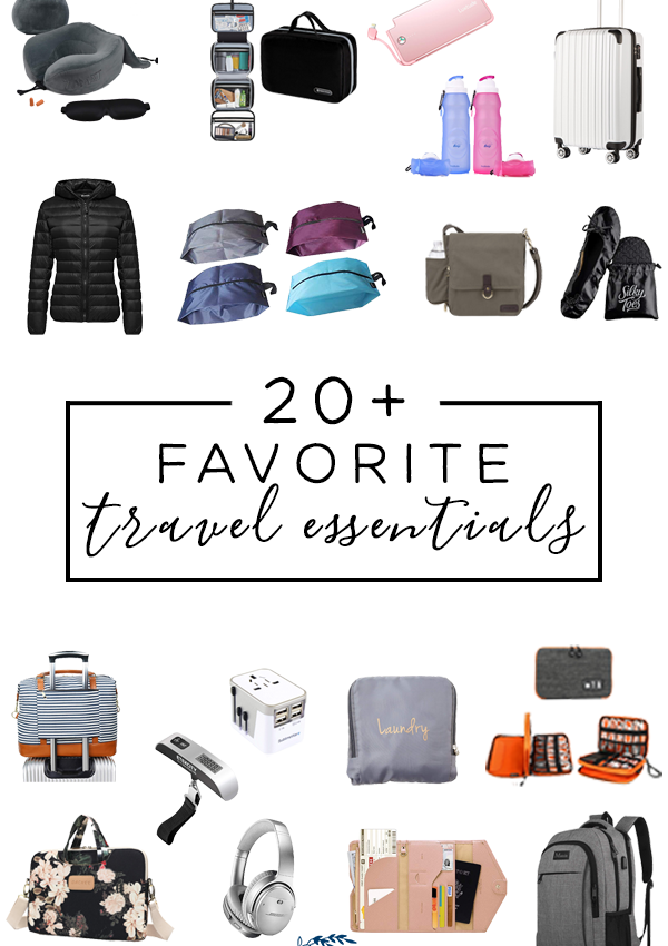 The ULTIMATE Travel Essentials for Long and Short Trips