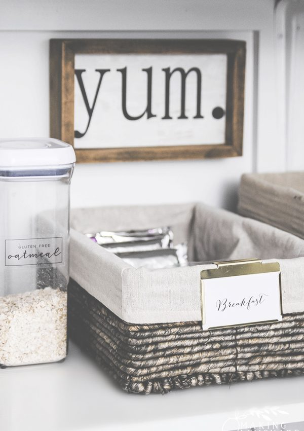 clever tips and tricks for organizing your pantry and maximizing food storage and space!