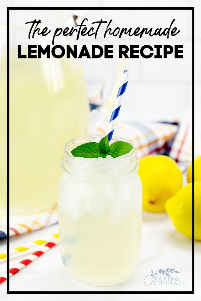 This is TRULY the BEST homemade lemonade recipe ever!