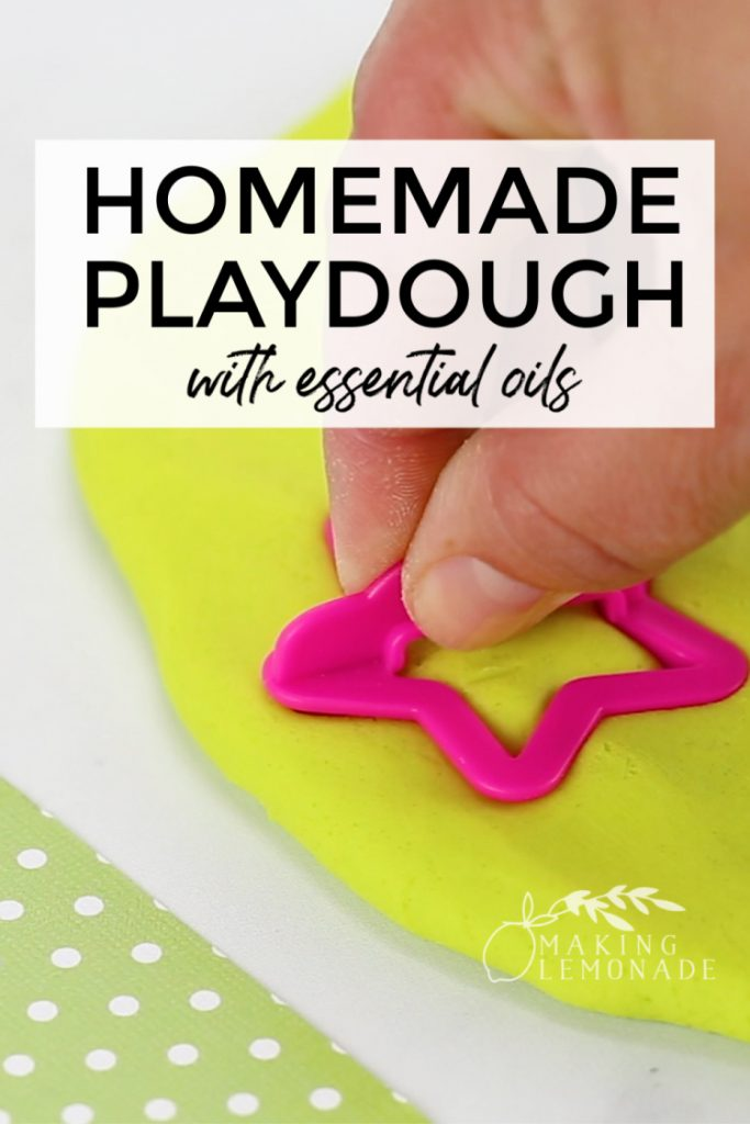 3 fun essential oil play recipes for kids-- including slime, playdough, and bubbles recipes!