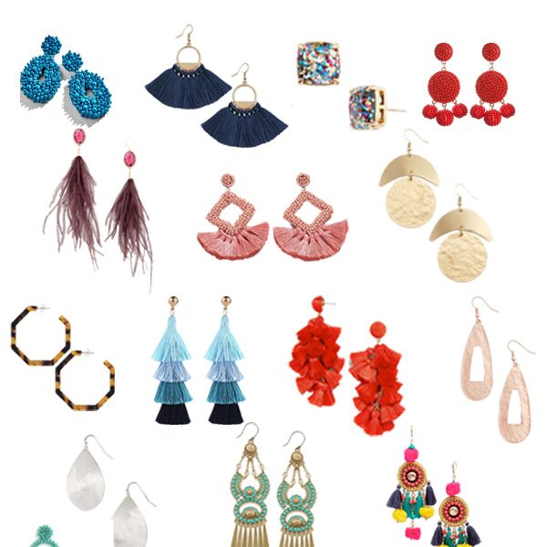 STYLISH AND AFFORDABLE STATEMENT EARRINGS