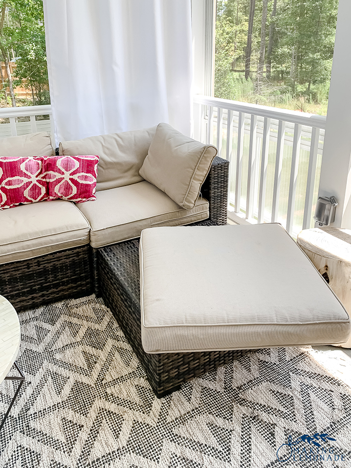 how to keep outdoor couch cushions from sliding (and other clever cleaning and organizing hacks!)
